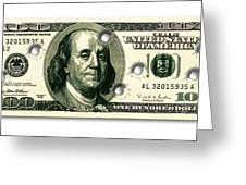 Dollar Drive By Greeting Card