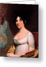 Dolley Payne Madison Greeting Card