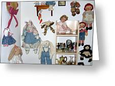 Dolls And Such Greeting Card