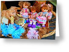 Dolls For Sale 1 Greeting Card