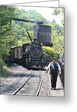 Dollywood 2-8-2 Number 70 Greeting Card