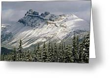 1m3538-dolomite Peak Greeting Card
