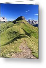 Dolomites - Crepa Neigra Greeting Card