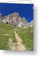 Dolomites - Gran Cir Greeting Card
