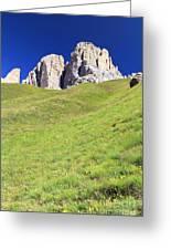 Dolomites - Grohmann Peak Greeting Card