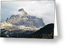 Dolomites Of Italy Greeting Card