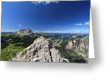 Dolomiti - Alta Val Gardena Greeting Card