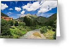 Dolomiti - Fassa Valley Greeting Card