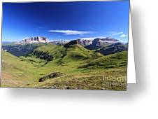 Dolomiti - High Fassa Valley Greeting Card