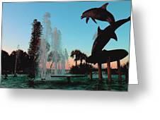 Dolphin Dance Greeting Card