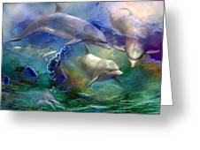 Dolphin Dream Greeting Card