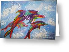 Dolphin Playjourney Greeting Card