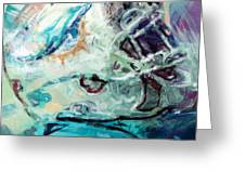 Dolphins Art Greeting Card