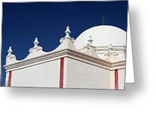Dome At The Mission Greeting Card