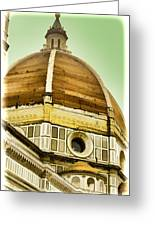 Dome Of Florence Greeting Card