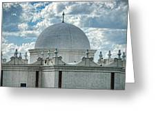 Dome Of San Xavier - Tucson Az Greeting Card