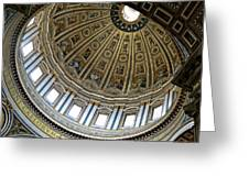 Dome Of St. Peter's Rome Greeting Card