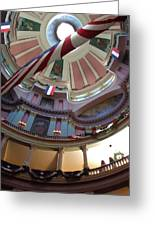 Dome Of The Old Courthouse Greeting Card