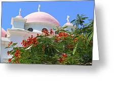 Domes Of Seven Apostles Greeting Card