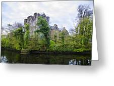 Donegal Castle In Donegaltown Ireland Greeting Card
