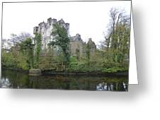 Donegal Castle Ruins Greeting Card