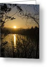 Donegal Morning - Lough Eske Greeting Card