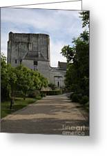 Donjon Loches - France Greeting Card