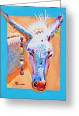 Jack's Other Girl - Burro - Donkey Greeting Card