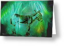 Donkey-featured In Nature Photography Group Greeting Card