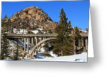 Donner Pass Greeting Card