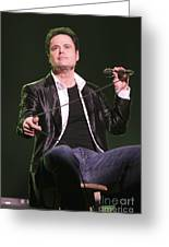 Donny Osmond Greeting Card