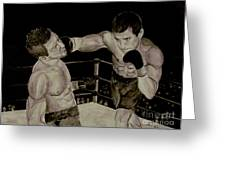 Donovan Boxing Greeting Card
