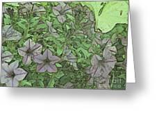 Donovan's  Garden Greeting Card by Mark Herman