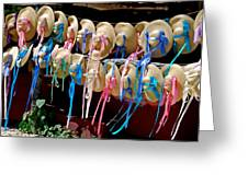 Don't Be Afraid To Wear Hats Greeting Card