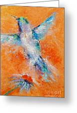 Don't Fly Away Greeting Card