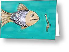 Don't Take The Bait Greeting Card