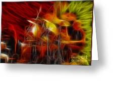 Doobies-93-keith-gg4-fractal Greeting Card