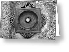 Door Bell Greeting Card