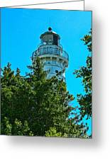 Door County Wi Lighthouse Greeting Card