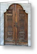 Door Of The Topkapi Palace - Istanbul Greeting Card