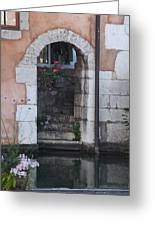 Door On The River Greeting Card