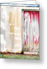 Door Series - Door 1 Greeting Card