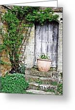Door To The Cotswolds Greeting Card