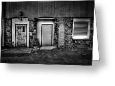 Doors And Vents Greeting Card