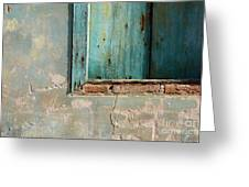 Doors And Windows Minas Gerais State Brazil 2 Greeting Card