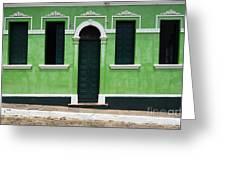 Doors And Wndows Lencois Brazil 7 Greeting Card