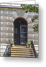 Doors Of Albany 3 Greeting Card