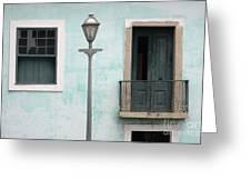 Doors Of Alcantara Brazil 2 Greeting Card
