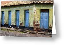 Doors Of Alcantara Brazil 4 Greeting Card