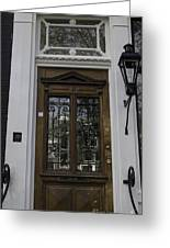 Doors Of Amsterdam 01 Greeting Card
